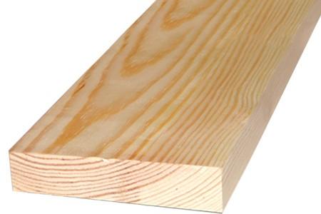 Доска сухая обрезная из лиственницы