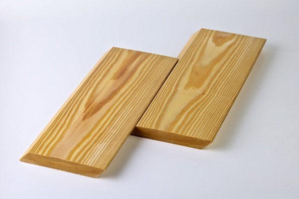 Планкен скошенный из лиственницы